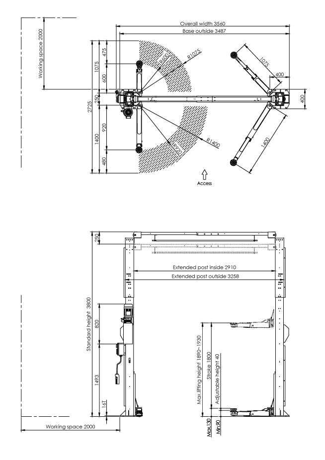 caizer 2 post t40